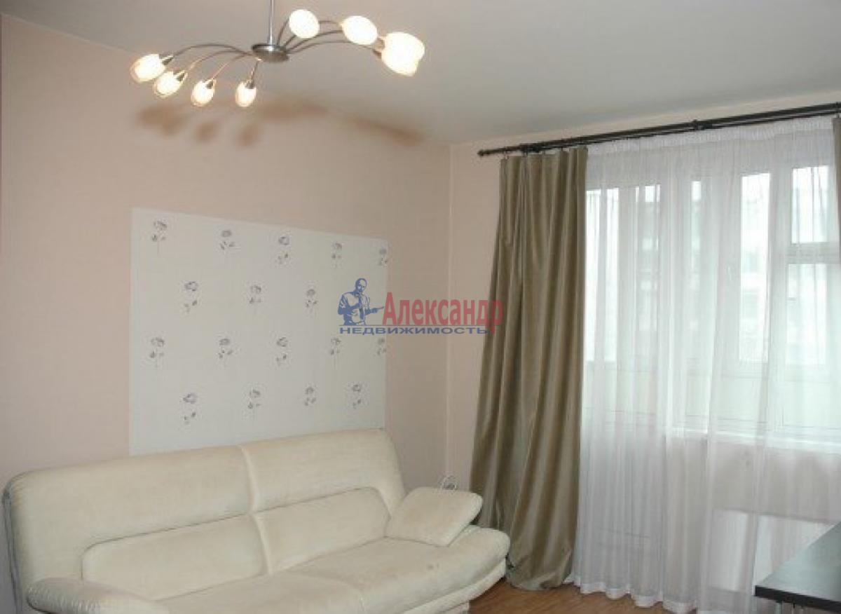 1-комнатная квартира (45м2) в аренду по адресу Обуховской Обороны пр., 110— фото 1 из 6