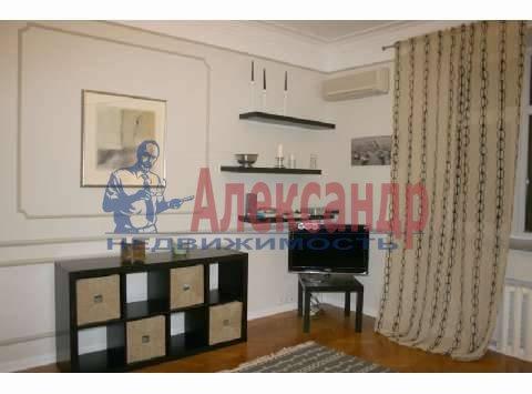 1-комнатная квартира (45м2) в аренду по адресу Авиаконструкторов пр., 2— фото 2 из 3