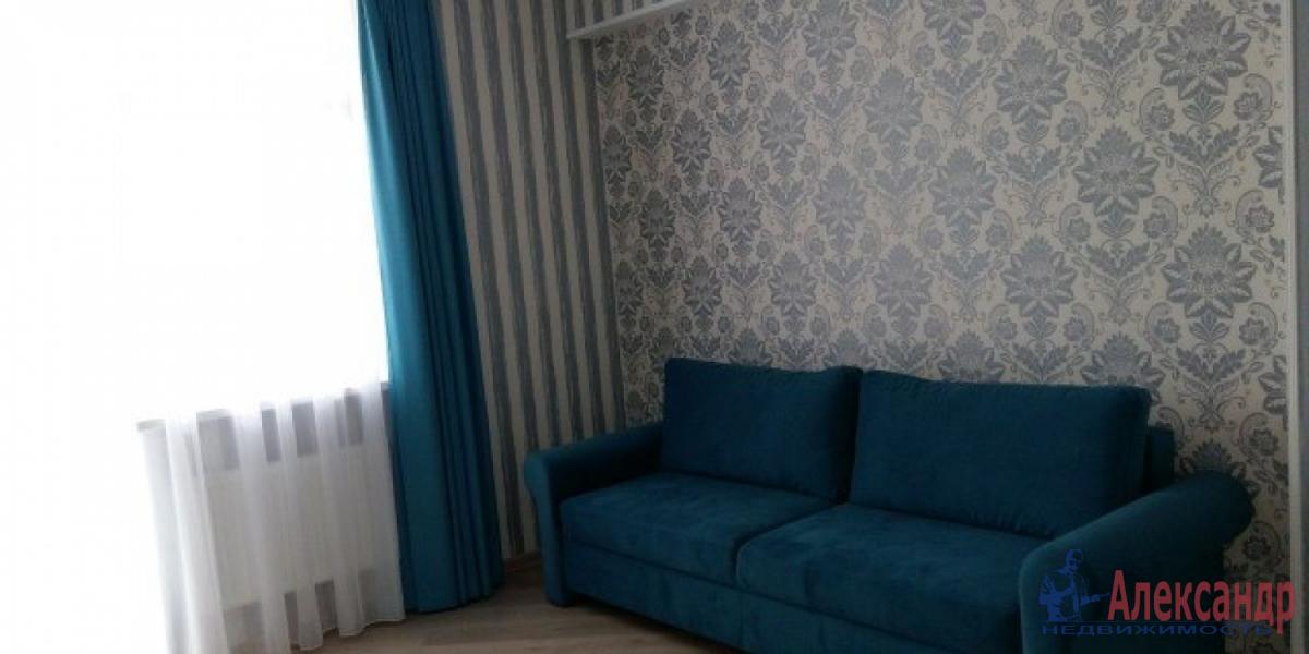 1-комнатная квартира (40м2) в аренду по адресу Дунайский пр., 14— фото 2 из 8