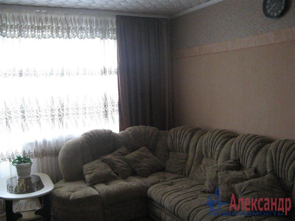 1-комнатная квартира (45м2) в аренду по адресу Московский просп., 151— фото 1 из 3