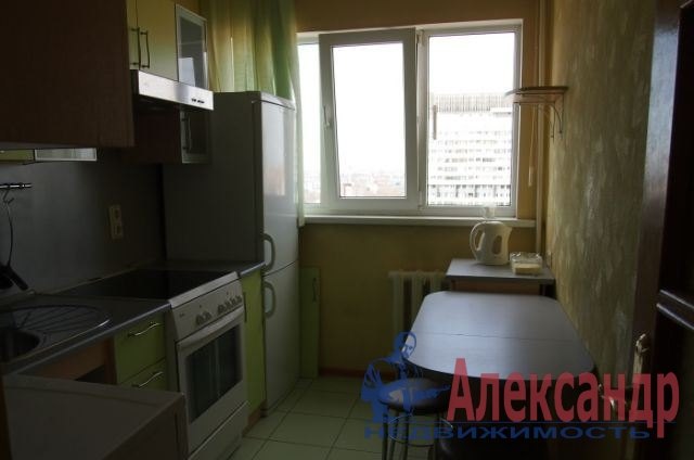 1-комнатная квартира (32м2) в аренду по адресу Московский просп., 224— фото 1 из 3