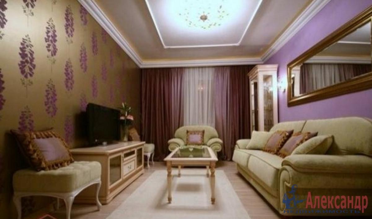 3-комнатная квартира (145м2) в аренду по адресу Морской пр., 24— фото 1 из 4