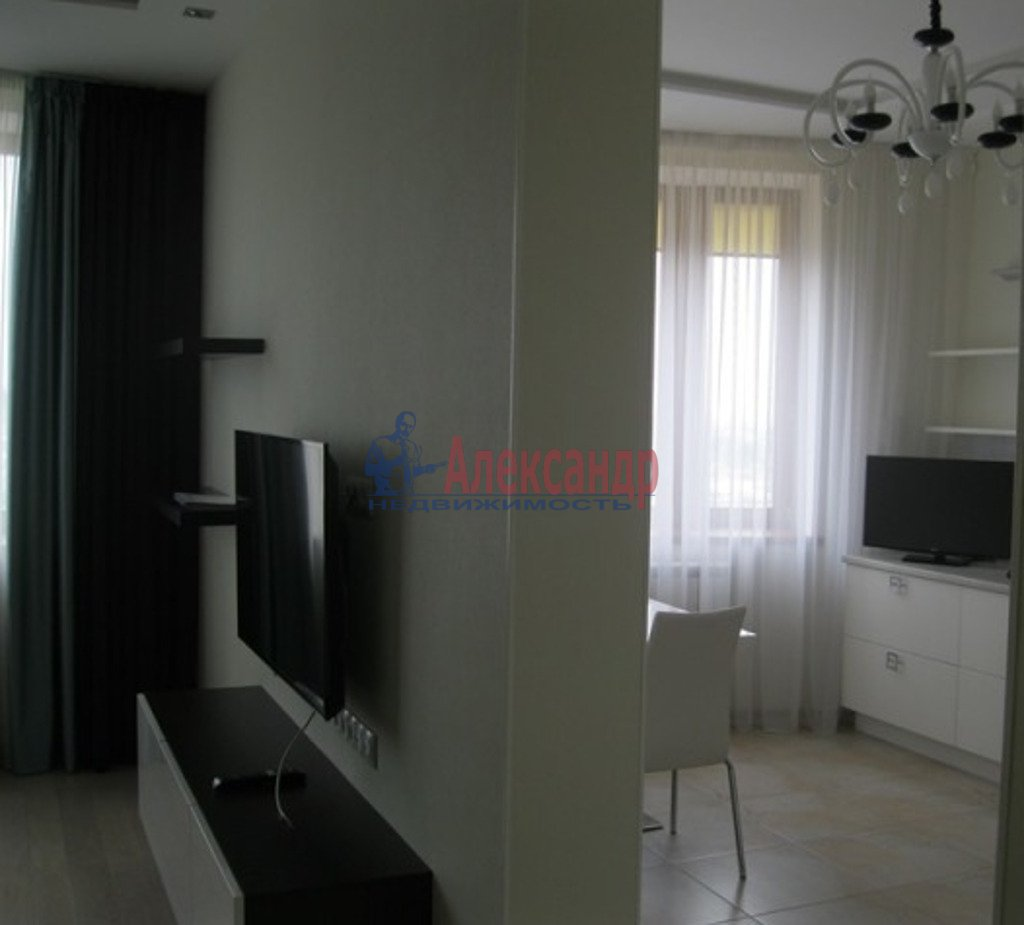 2-комнатная квартира (65м2) в аренду по адресу Дачный пр., 2— фото 1 из 5