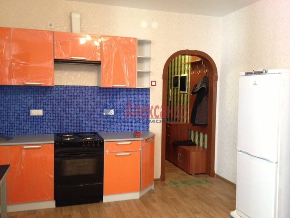 1-комнатная квартира (42м2) в аренду по адресу Земледельческая ул., 5— фото 1 из 10