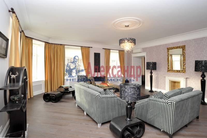 3-комнатная квартира (180м2) в аренду по адресу Бойцова пер.— фото 5 из 10