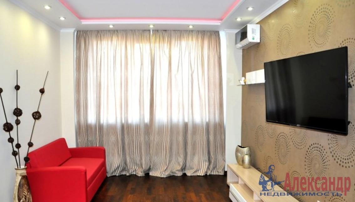 1-комнатная квартира (35м2) в аренду по адресу Варшавская ул., 19— фото 1 из 3