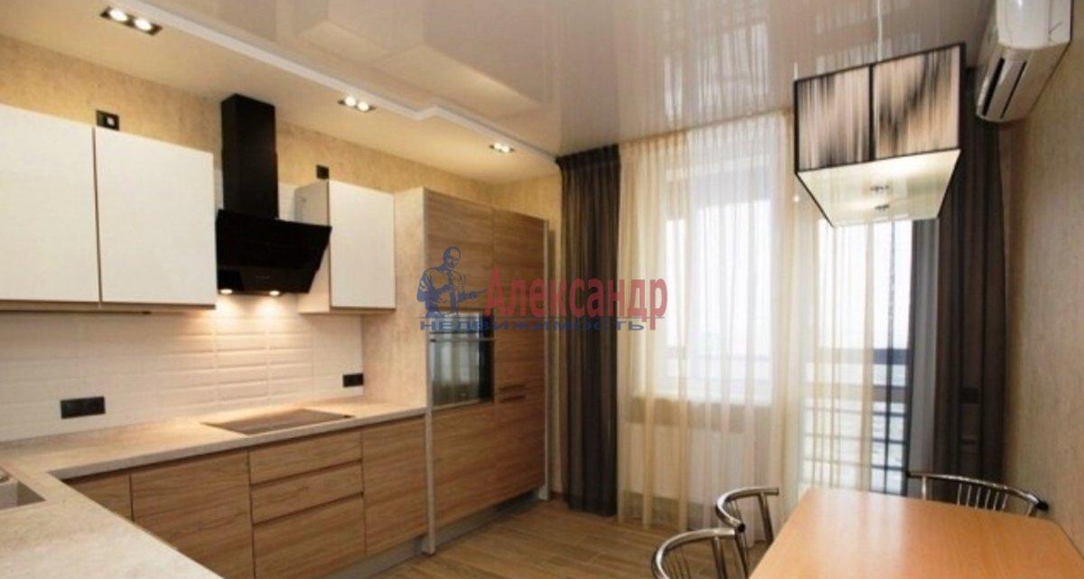 1-комнатная квартира (42м2) в аренду по адресу Кораблестроителей ул., 34— фото 1 из 4