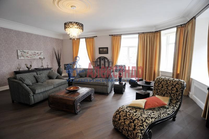 3-комнатная квартира (180м2) в аренду по адресу Бойцова пер.— фото 1 из 10