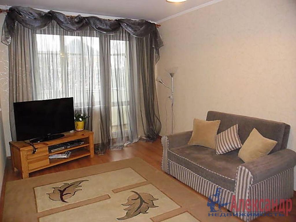 2-комнатная квартира (45м2) в аренду по адресу Наставников пр., 26— фото 1 из 3
