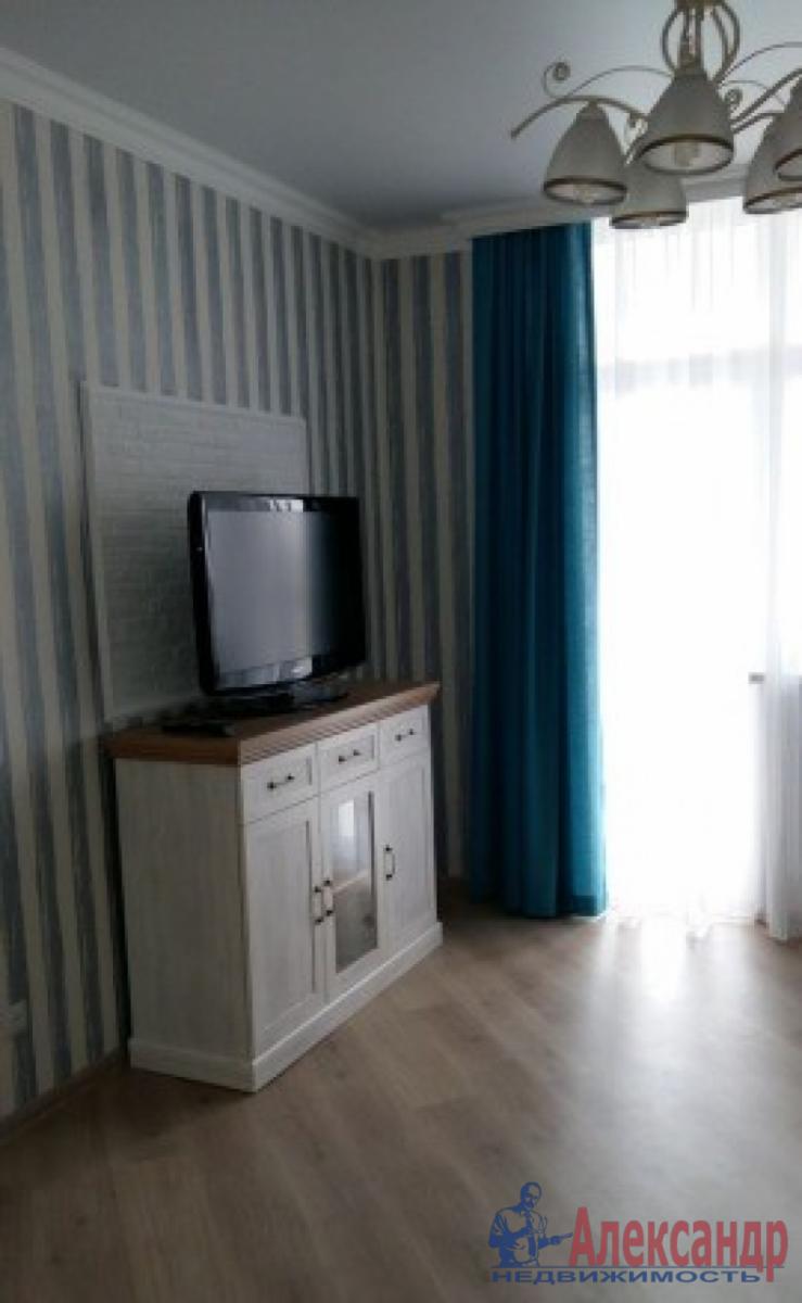 1-комнатная квартира (40м2) в аренду по адресу Дунайский пр., 14— фото 6 из 8