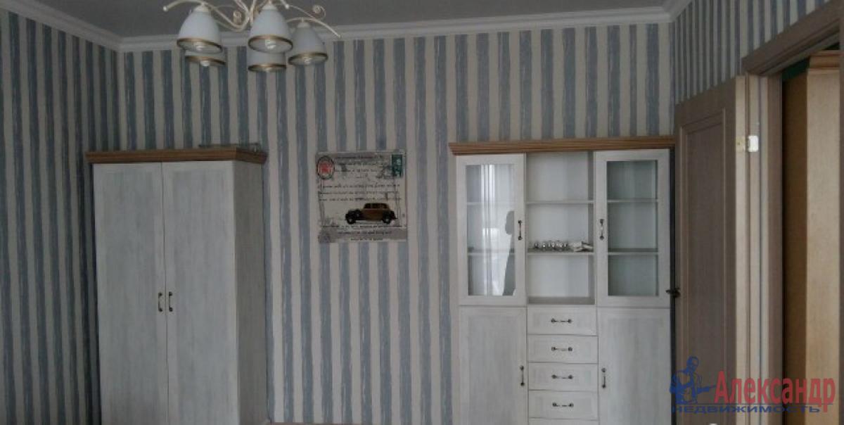 1-комнатная квартира (40м2) в аренду по адресу Дунайский пр., 14— фото 7 из 8