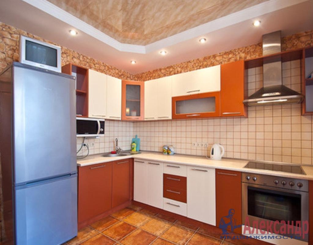 1-комнатная квартира (51м2) в аренду по адресу Малая Балканская ул., 16— фото 2 из 2