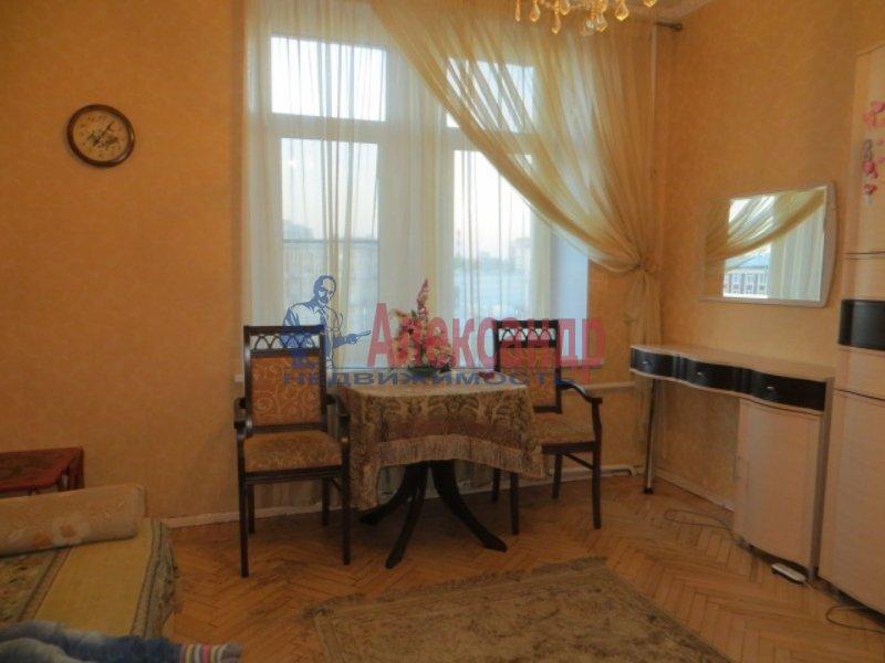 1-комнатная квартира (35м2) в аренду по адресу Институтский пр., 19— фото 2 из 3