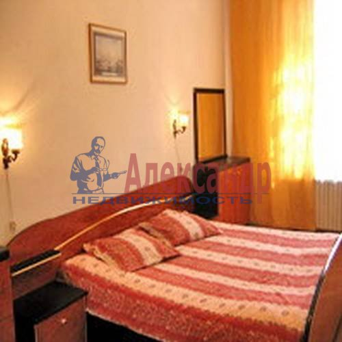 2-комнатная квартира (75м2) в аренду по адресу Миллионная ул.— фото 2 из 5