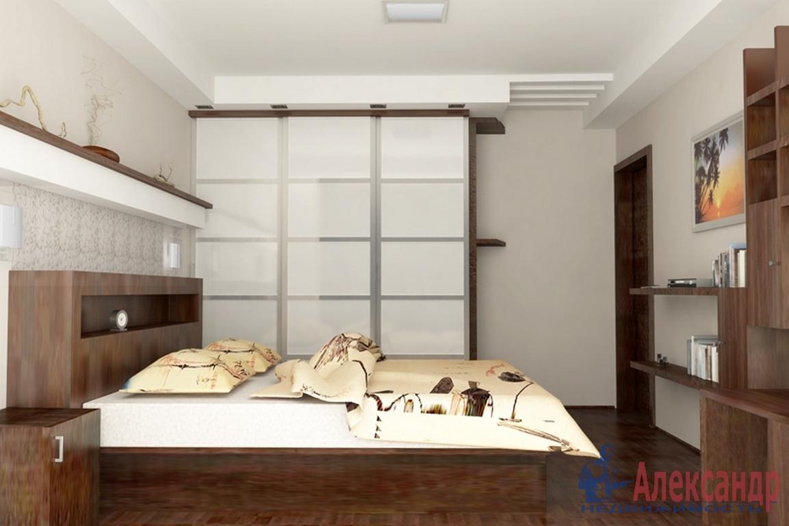 2-комнатная квартира (90м2) в аренду по адресу 10 линия В.О., 17— фото 2 из 3
