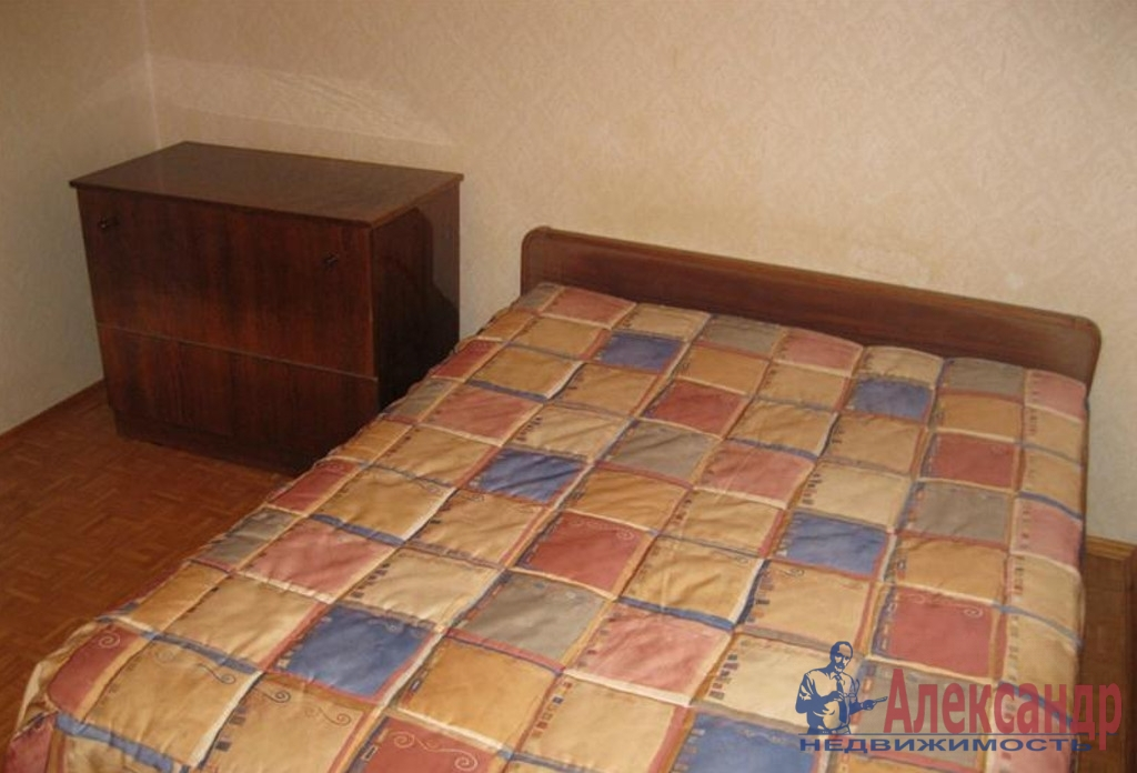 2-комнатная квартира (44м2) в аренду по адресу Луначарского пр., 76— фото 2 из 3