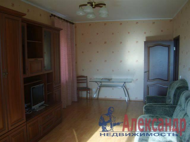 1-комнатная квартира (39м2) в аренду по адресу Каменноостровский пр., 40— фото 2 из 5