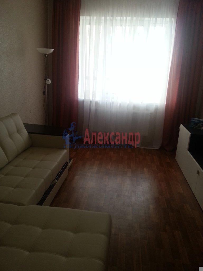 1-комнатная квартира (40м2) в аренду по адресу Науки пр., 17— фото 16 из 17