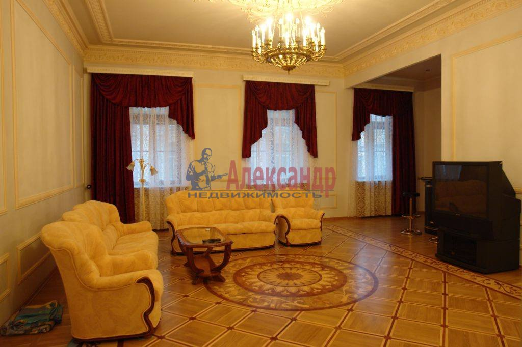 4-комнатная квартира (182м2) в аренду по адресу Галерная ул., 19— фото 2 из 14