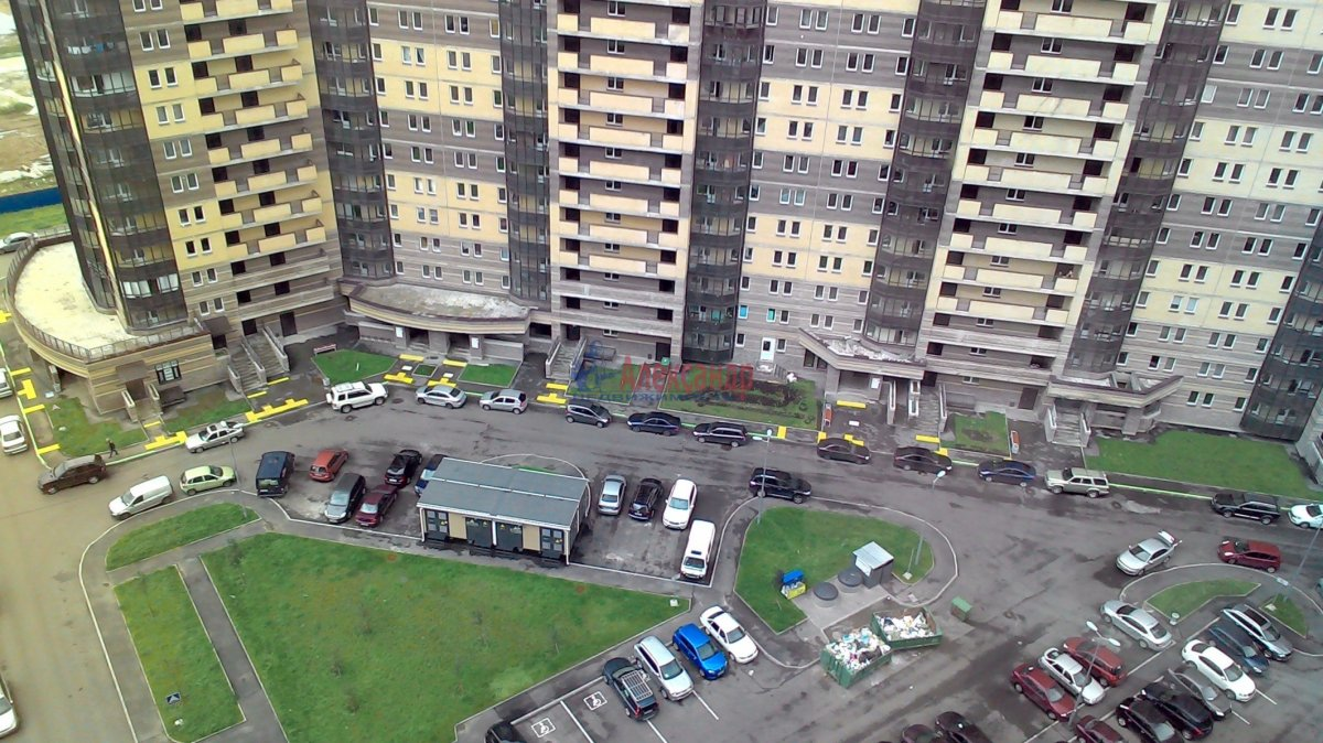 1-комнатная квартира (38м2) в аренду по адресу Парголово пос., Федора Абрамова ул., 19— фото 13 из 21