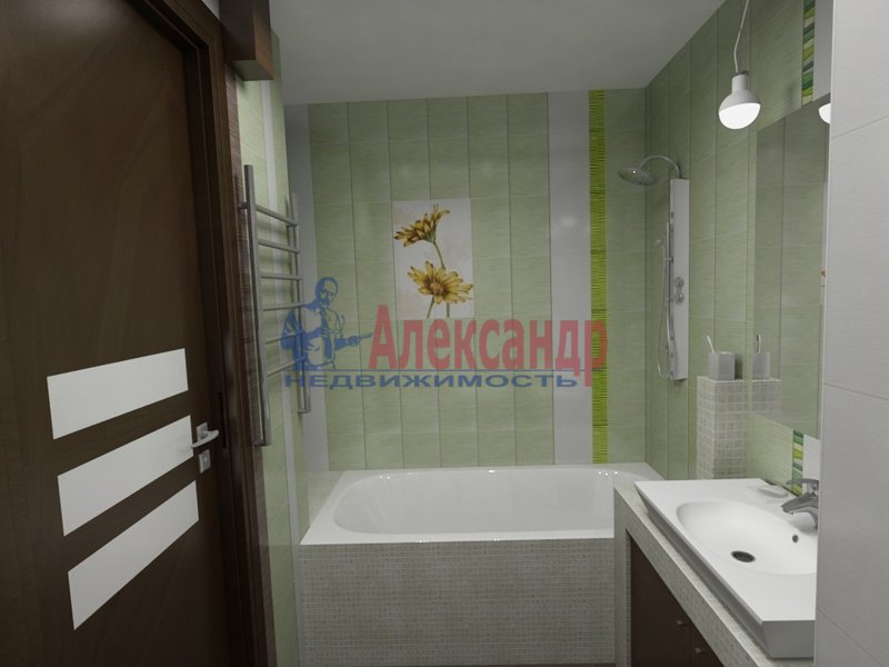 1-комнатная квартира (39м2) в аренду по адресу Просвещения пр., 9— фото 4 из 4