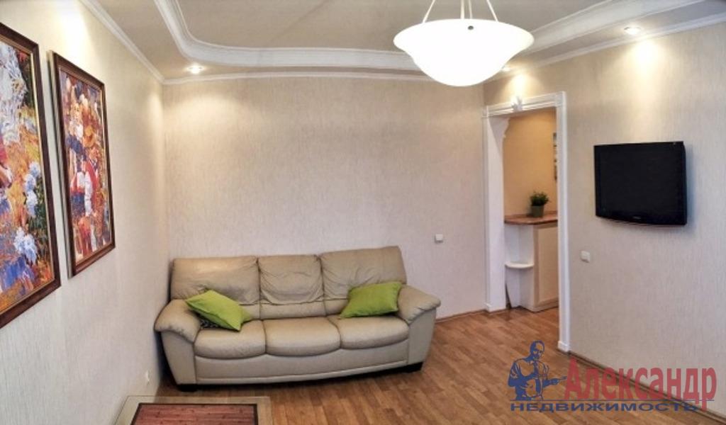 2-комнатная квартира (70м2) в аренду по адресу Лыжный пер., 4— фото 1 из 3