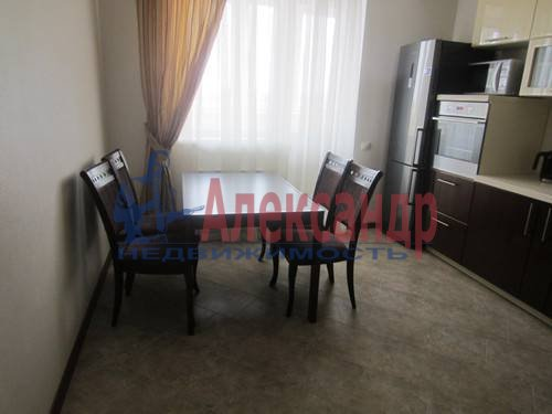 1-комнатная квартира (40м2) в аренду по адресу Гаккелевская ул., 32— фото 3 из 4