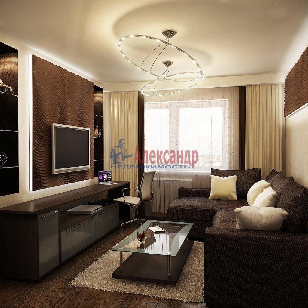 2-комнатная квартира (80м2) в аренду по адресу Шостаковича ул., 3— фото 1 из 2