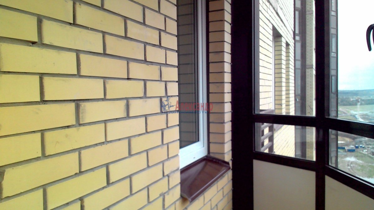 1-комнатная квартира (38м2) в аренду по адресу Парголово пос., Федора Абрамова ул., 19— фото 9 из 21