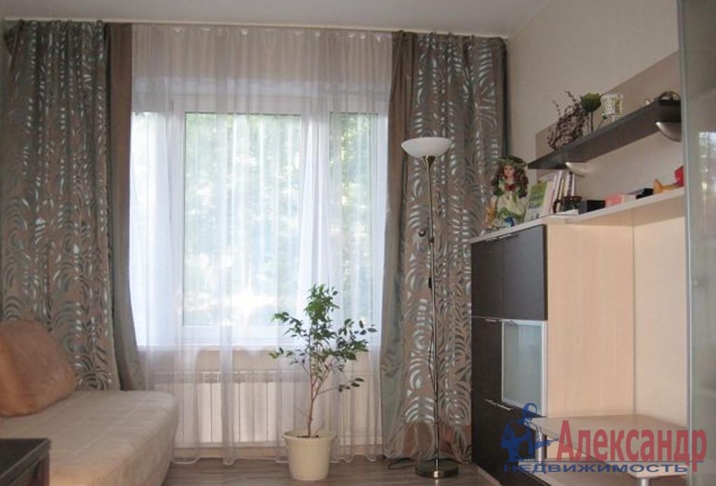 1-комнатная квартира (39м2) в аренду по адресу Композиторов ул., 20— фото 1 из 2
