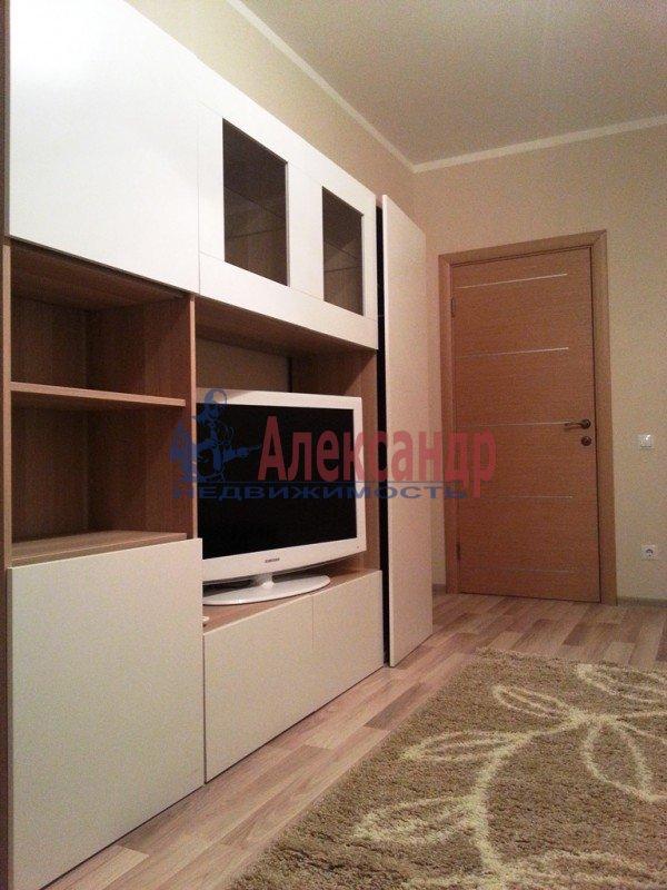 1-комнатная квартира (43м2) в аренду по адресу Народного Ополчения пр., 167— фото 2 из 7