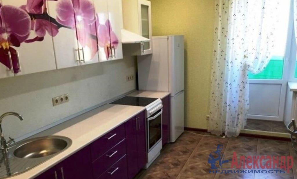 1-комнатная квартира (41м2) в аренду по адресу Обуховской Обороны пр., 110— фото 1 из 3