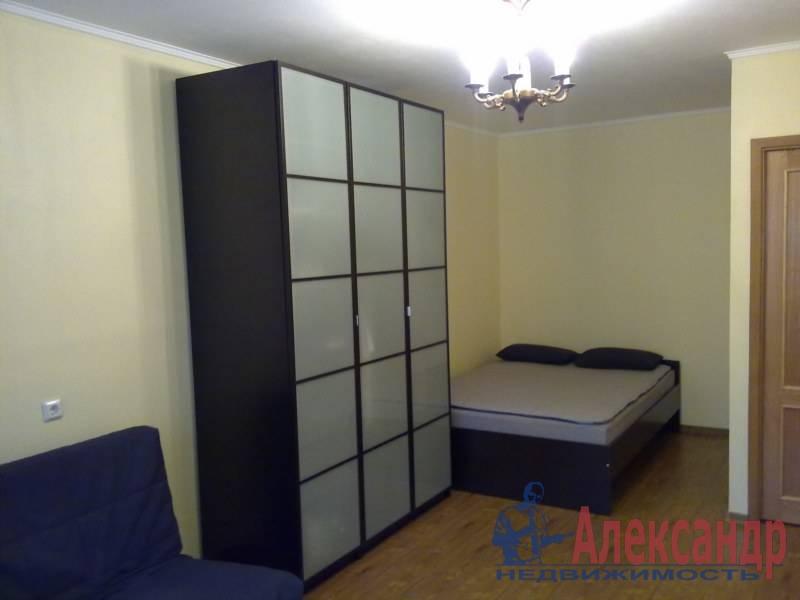 1-комнатная квартира (40м2) в аренду по адресу Просвещения пр., 102— фото 1 из 3