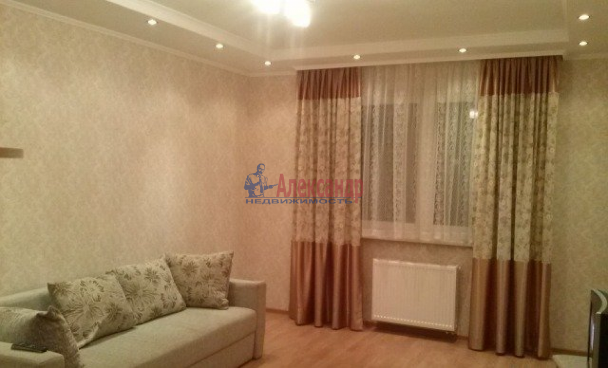 1-комнатная квартира (34м2) в аренду по адресу Олеко Дундича ул., 12— фото 1 из 7