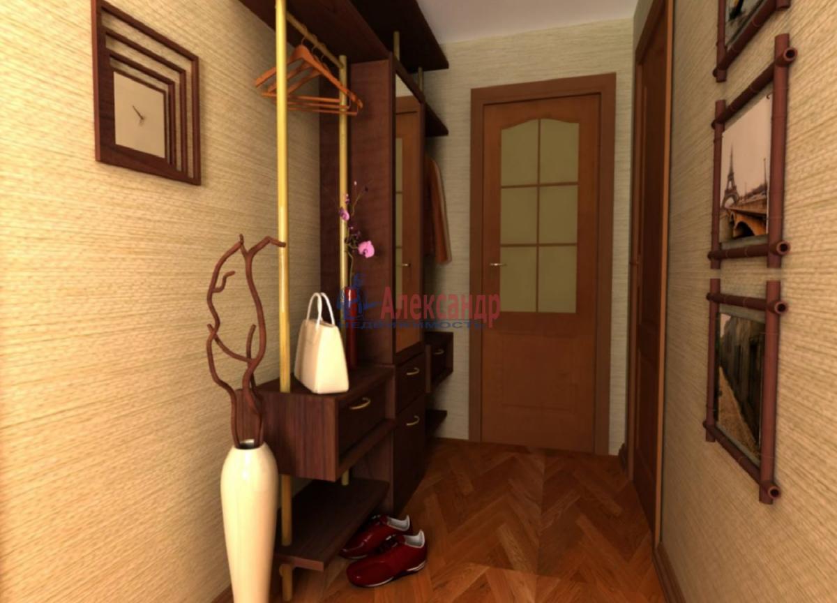 1-комнатная квартира (32м2) в аренду по адресу Науки пр., 18— фото 2 из 4