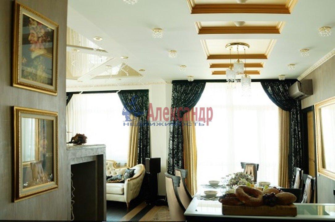 3-комнатная квартира (126м2) в аренду по адресу Английская наб.— фото 4 из 14