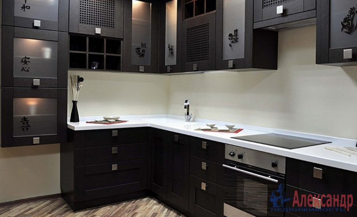 1-комнатная квартира (40м2) в аренду по адресу Беринга ул., 27— фото 2 из 2