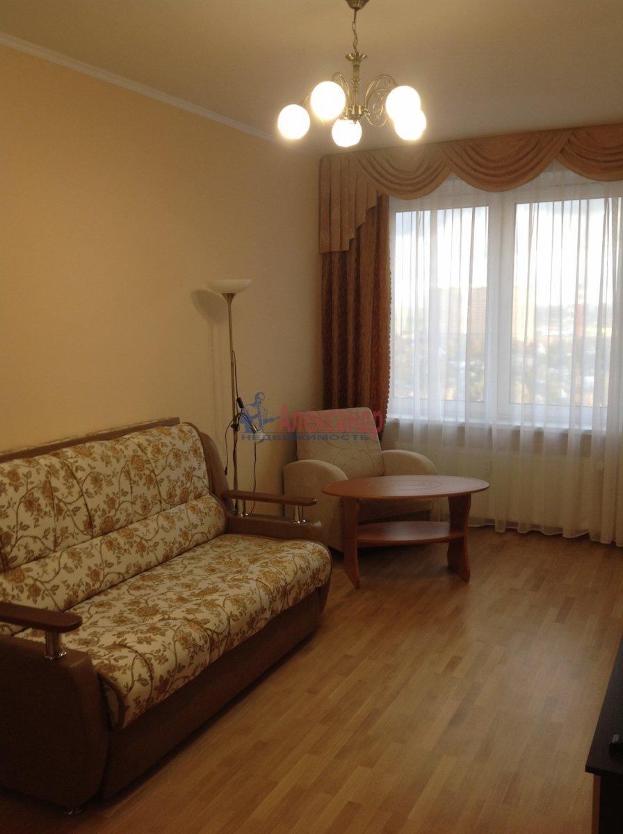1-комнатная квартира (49м2) в аренду по адресу Мурино пос., Привокзальная пл., 3— фото 3 из 8