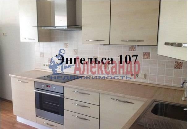 1-комнатная квартира (40м2) в аренду по адресу Энгельса пр., 107— фото 1 из 7