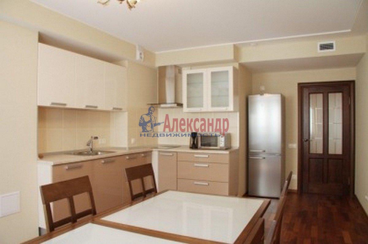 1-комнатная квартира (60м2) в аренду по адресу Малый П.С. пр., 16— фото 2 из 5