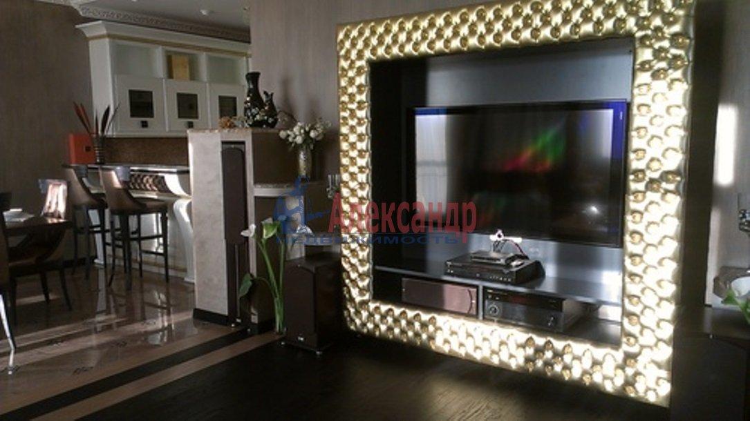 3-комнатная квартира (126м2) в аренду по адресу Английская наб.— фото 10 из 14