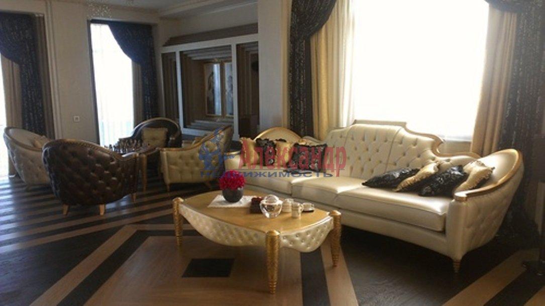 3-комнатная квартира (126м2) в аренду по адресу Английская наб.— фото 12 из 14