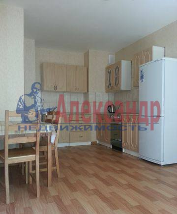 1-комнатная квартира (41м2) в аренду по адресу Рыбацкий пр., 43— фото 1 из 5