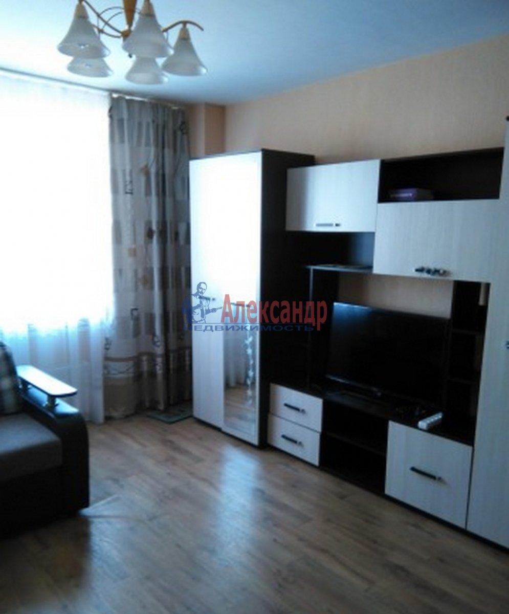 1-комнатная квартира (37м2) в аренду по адресу 1 Муринский пр., 15— фото 1 из 2