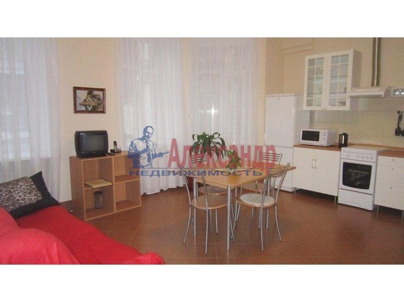 1-комнатная квартира (40м2) в аренду по адресу Авангардная ул., 23— фото 1 из 3