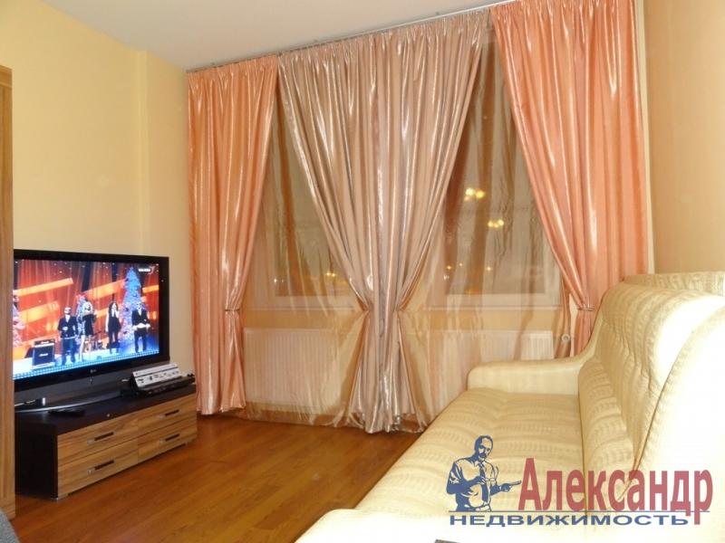 1-комнатная квартира (36м2) в аренду по адресу Коллонтай ул., 26— фото 1 из 4