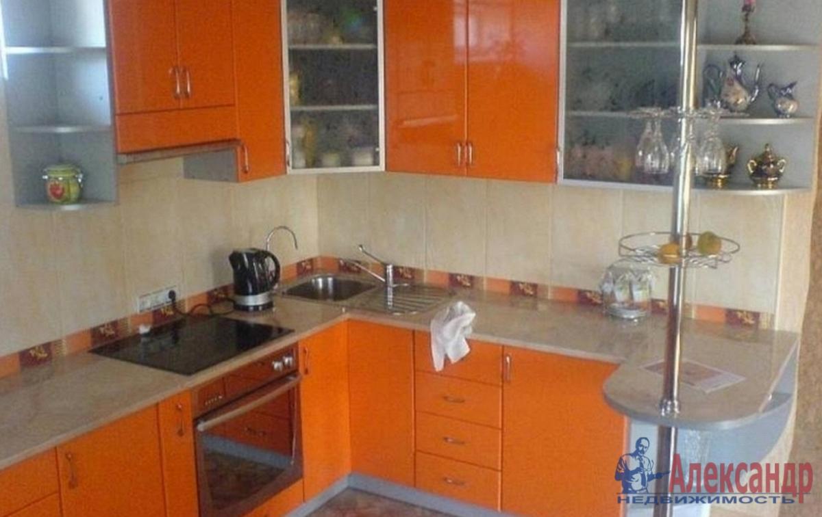 1-комнатная квартира (33м2) в аренду по адресу Парголово пос., Заречная ул., 19— фото 2 из 3