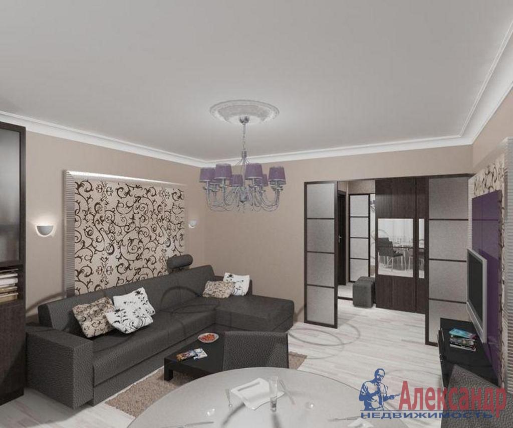 2-комнатная квартира (80м2) в аренду по адресу Малый пр., 90— фото 1 из 4