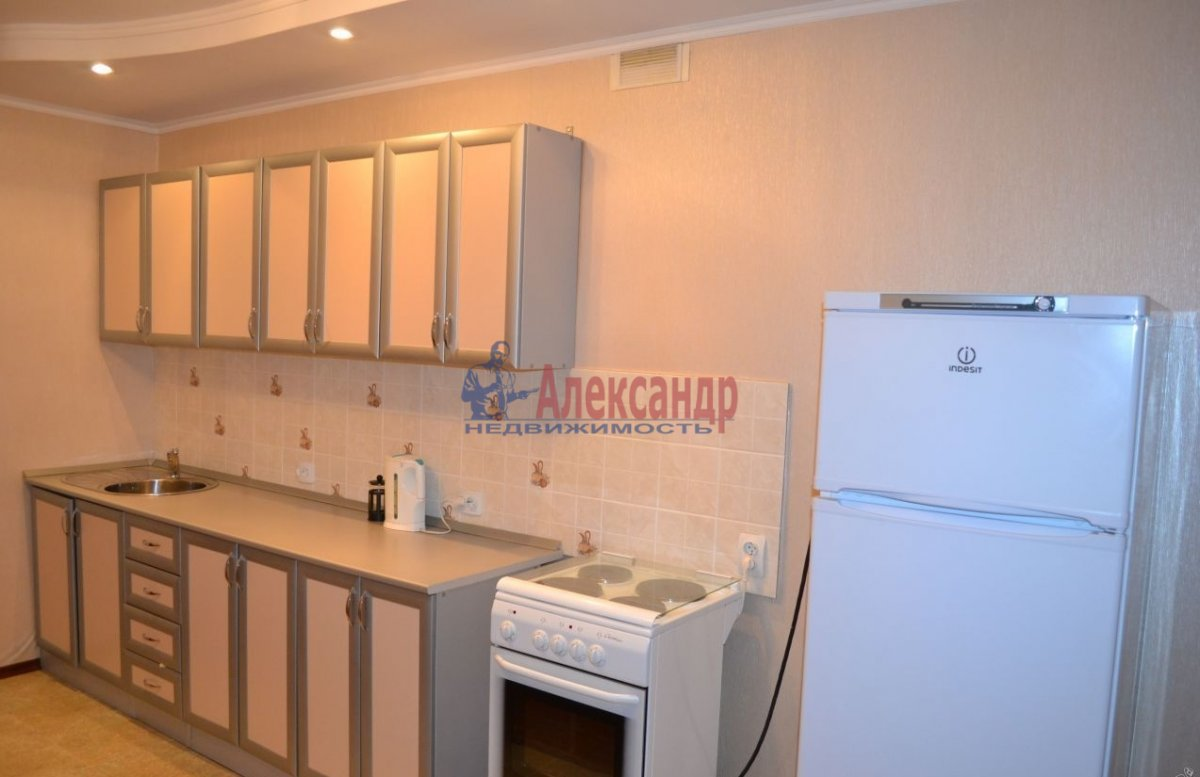 1-комнатная квартира (40м2) в аренду по адресу Комендантский пр., 23— фото 4 из 4