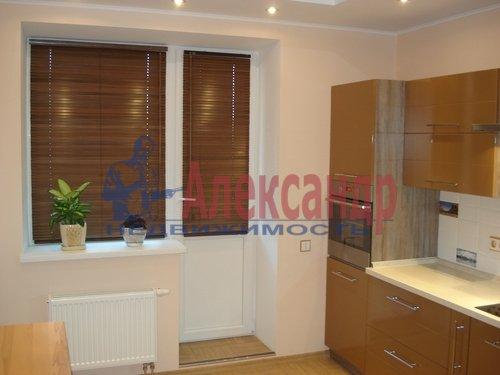 1-комнатная квартира (43м2) в аренду по адресу Поликарпова аллея, 2— фото 1 из 5